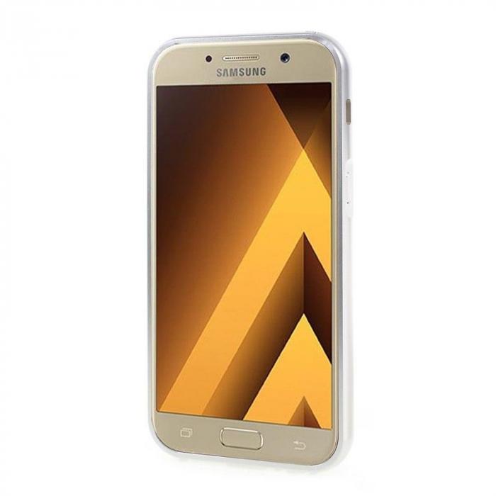 Husa  Samsung Galaxy A5 2017 (A520F) Bumper Metalic - argintiu 3