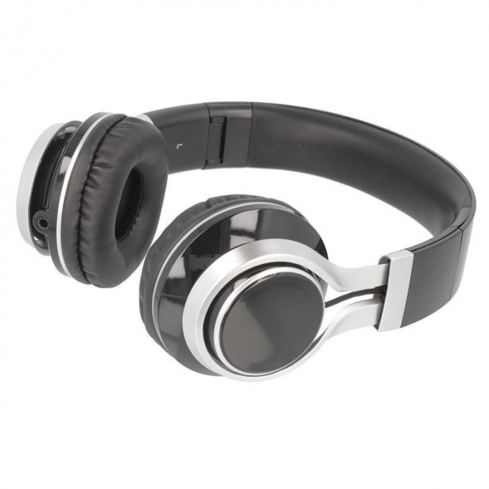 Casti Audio Extra Bass EP-16 cu microfon incorporat - negru 3