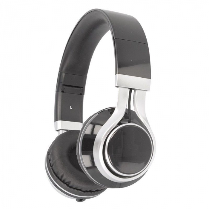 Casti Audio Extra Bass EP-16 cu microfon incorporat - negru 2