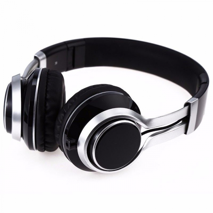 Casti Audio Extra Bass EP-16 cu microfon incorporat - negru 1