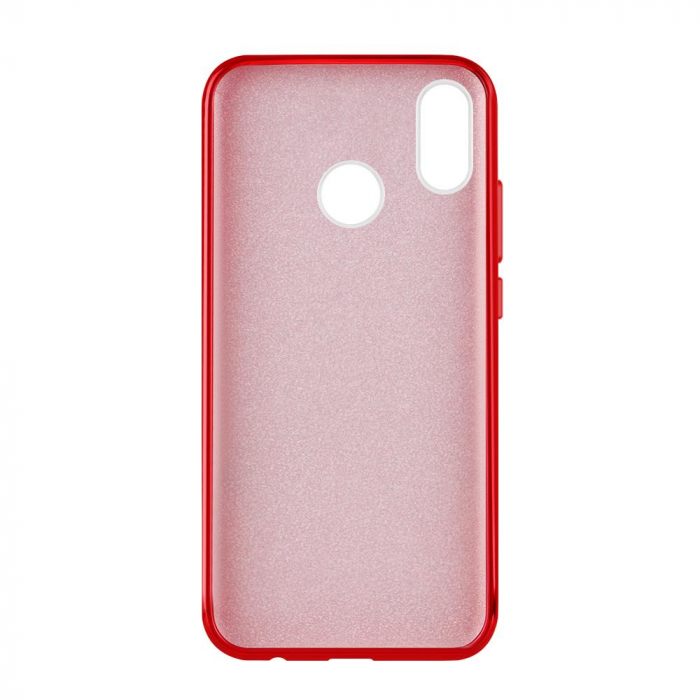 Husa Samsung A50 Shiny TPU Sclipici – rosu 1