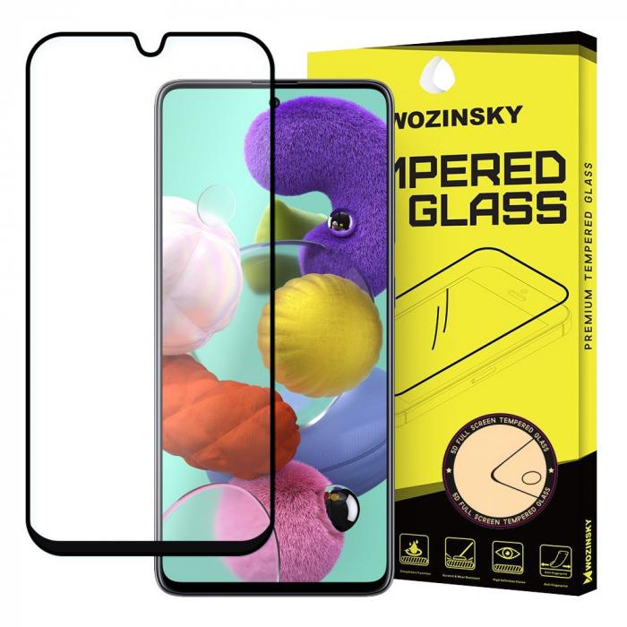 Folie Sticla Securizata 6D Full Glue Samsung Galaxy A51 - margini negre [0]