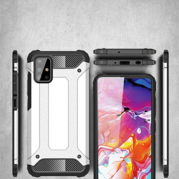 Husa Samsung Galaxy A51 Hybrid Armor - negru [1]