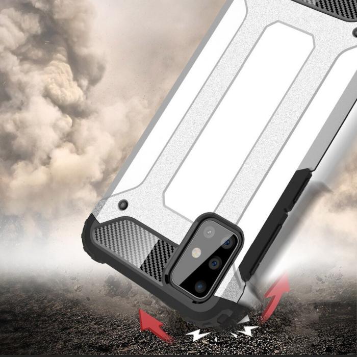 Husa Samsung Galaxy A51 Hybrid Armor - negru [3]