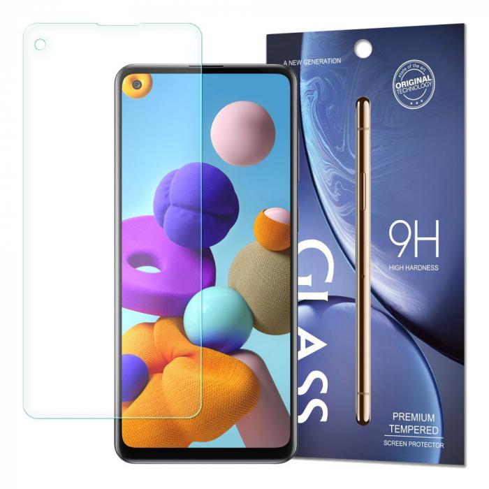 Folie Sticla Securizata Tempered Glass Samsung Galaxy A21S [0]