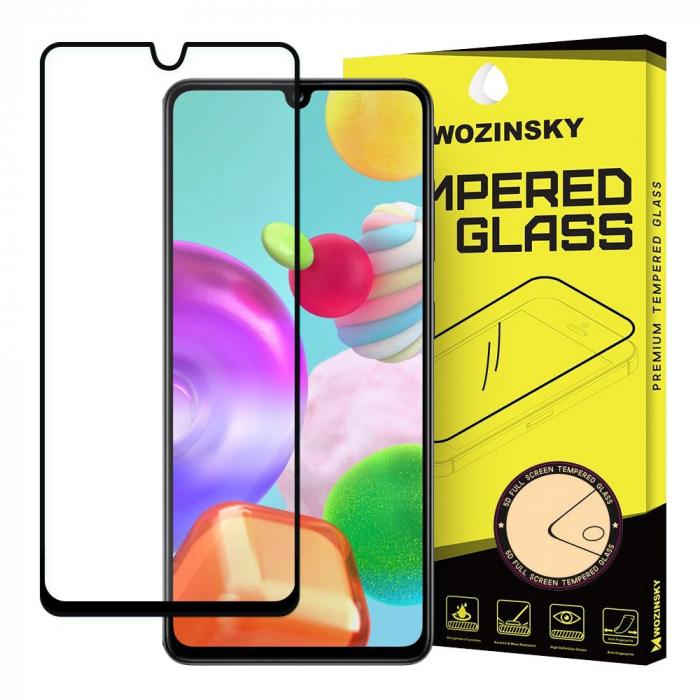 Folie Sticla Securizata 6D Full Glue Samsung Galaxy A41 - margini negre [0]