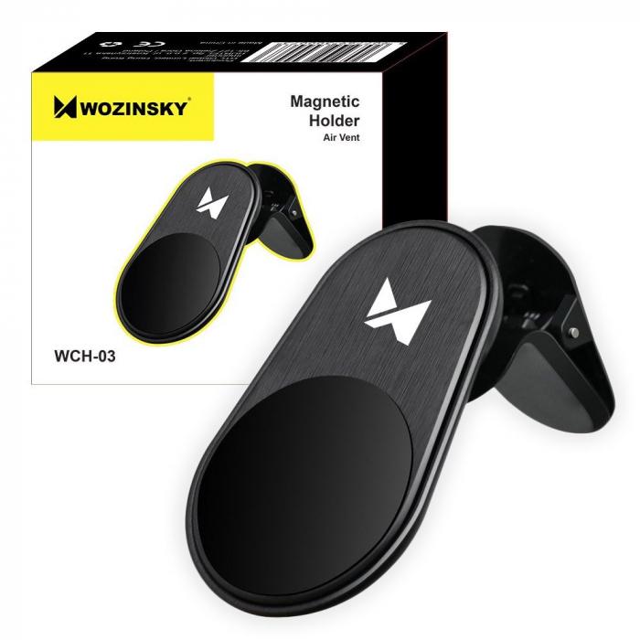 Suport Auto Magnetic Wozinsky Air Vent-negru [0]