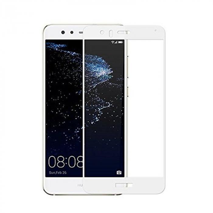 Sticla Securizata Full Screen Huawei P10 Lite - alb 0