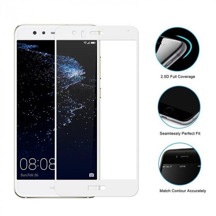 Sticla Securizata Full Screen Huawei P10 Lite - alb 1
