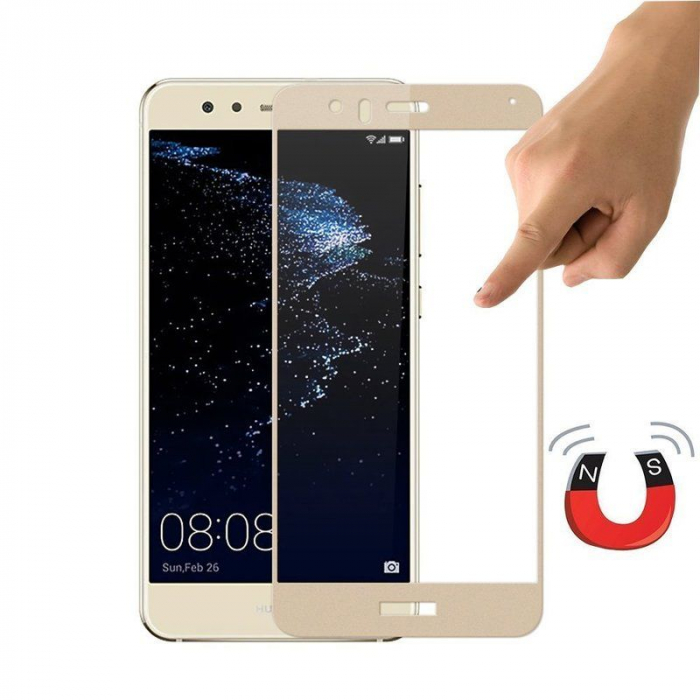 Folie Sticla Securizata Full Screen Huawei P9 Lite Mini 2017 - gold 2