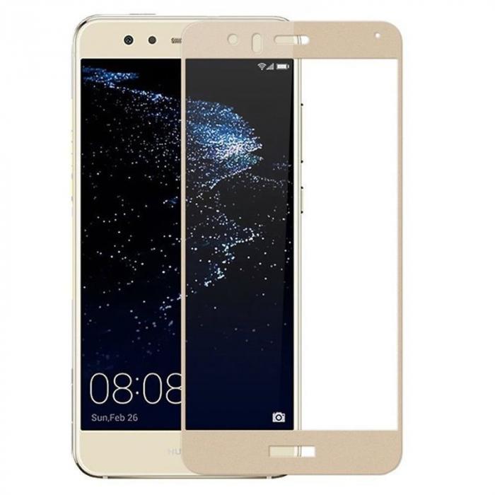Folie Sticla Securizata Full Screen Huawei P9 Lite Mini 2017 - gold 1