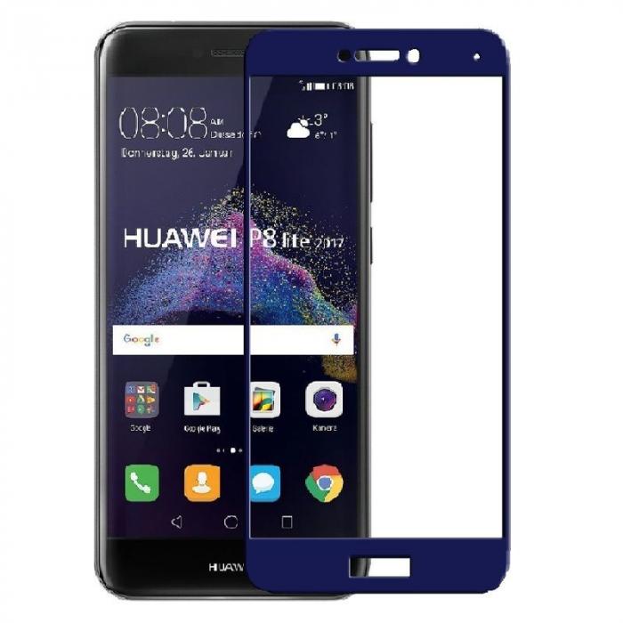 Sticla Securizata Full Screen Huawei P9 Lite (2017) / P8 Lite (2017)  - bleumarin 0