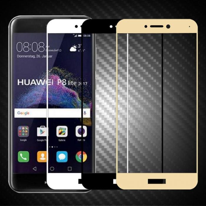 Sticla Securizata Full Screen Huawei P9 Lite (2017) / P8 Lite (2017)  - negru 1