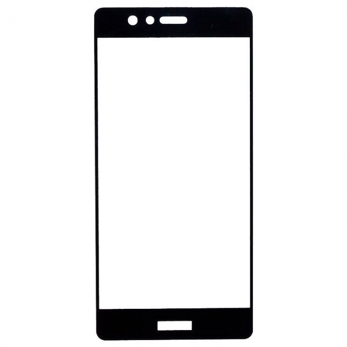 Folie Sticla Securizata Full Screen Soft Edge Huawei P9 - negru 2
