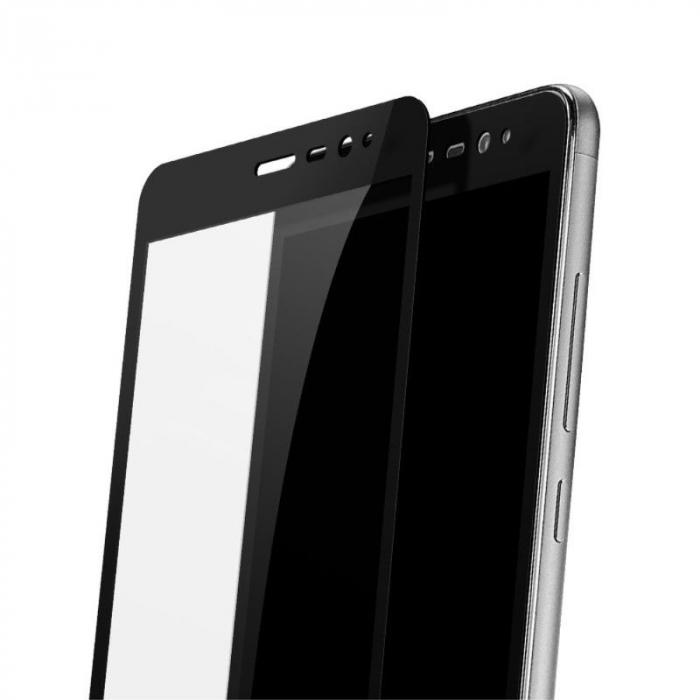 Folie Sticla Securizata Leuno Full Screen Xiaomi Redmi Note 3 Pro Special Edition - negru 2