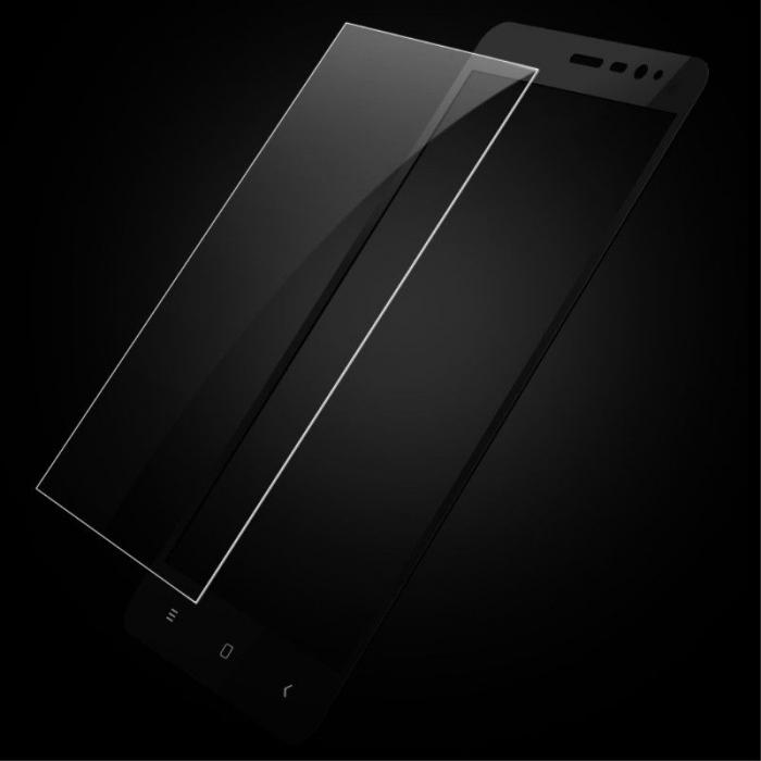 Folie Sticla Securizata Leuno Full Screen Xiaomi Redmi Note 3 Pro Special Edition - negru 5
