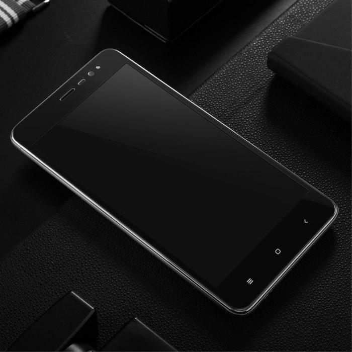 Folie Sticla Securizata Leuno Full Screen Xiaomi Redmi Note 3 Pro Special Edition - negru 3