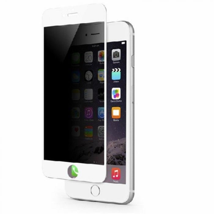 Sticla Securizata Privacy Iphone 6 6S - alb 0