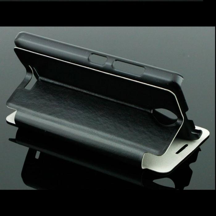 Husa Lenovo A1000 Boso din piele eco - negru 3
