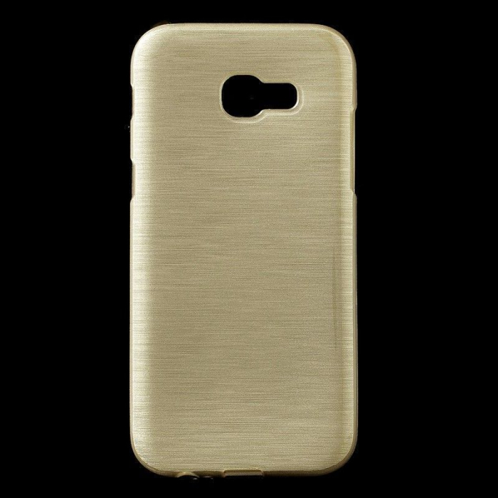 Husa Brushed Inner TPU Samsung Galaxy A3 2017 (A320) - gold 0