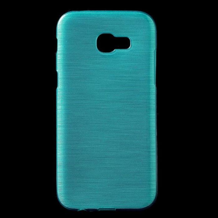 Husa Brushed Inner TPU Samsung Galaxy A3 2017 (A320) - albastru 0