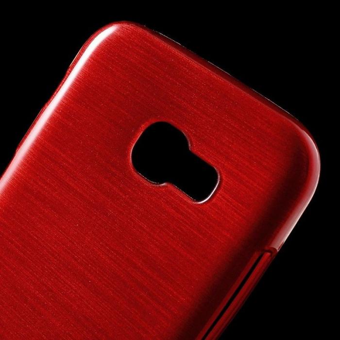 Husa Brushed Inner TPU Samsung Galaxy A3 2017 (A320) - rosu [1]