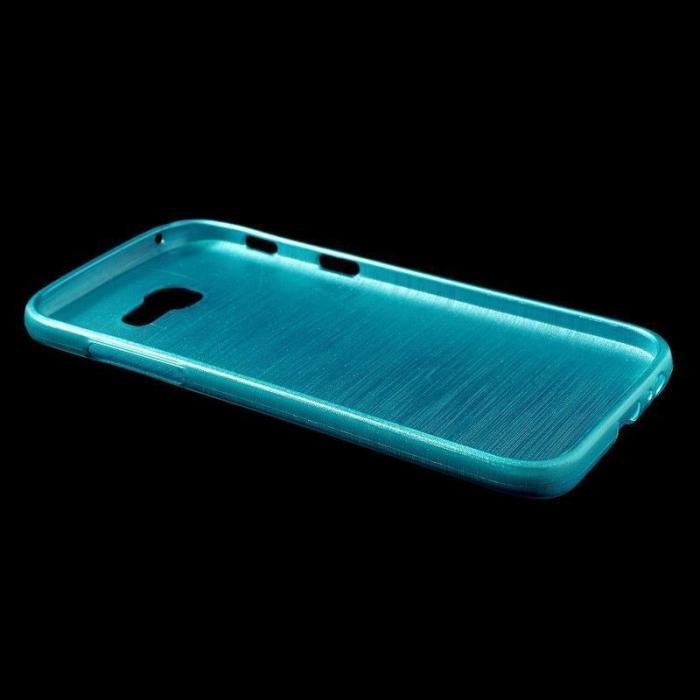 Husa Brushed Inner TPU Samsung Galaxy A3 2017 (A320) - albastru 2