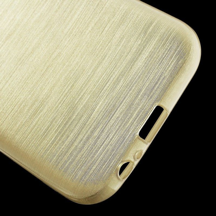 Husa Brushed Inner TPU Samsung Galaxy A3 2017 (A320) - gold 4