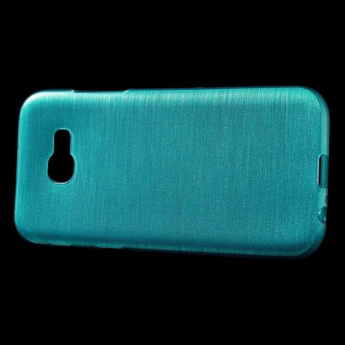 Husa Brushed Inner TPU Samsung Galaxy A3 2017 (A320) - albastru 4