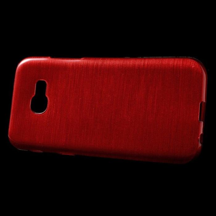 Husa Brushed Inner TPU Samsung Galaxy A3 2017 (A320) - rosu [3]