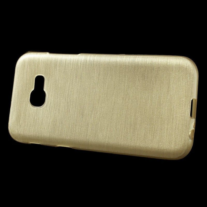 Husa Brushed Inner TPU Samsung Galaxy A3 2017 (A320) - gold 3