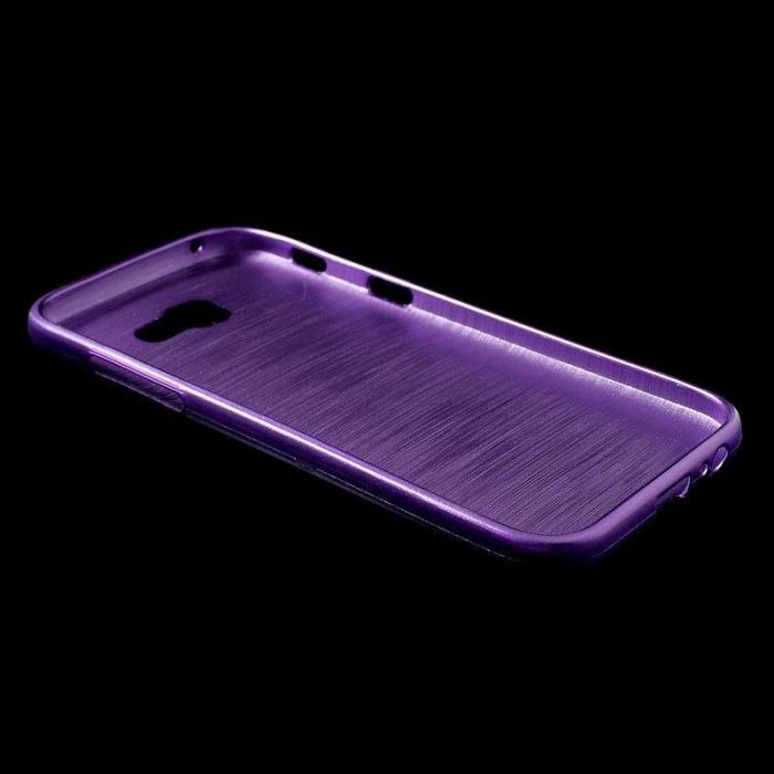 Husa Brushed Inner TPU Samsung Galaxy A3 2017 (A320) - mov [2]