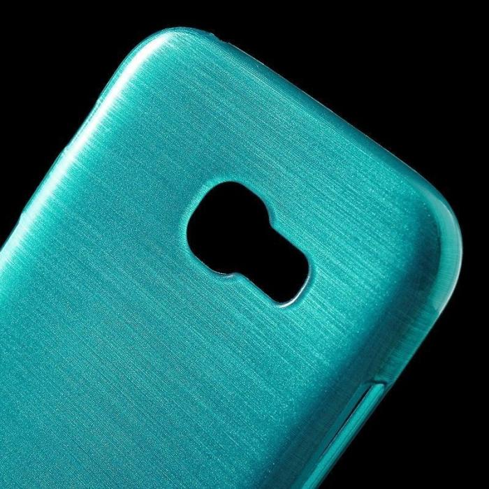 Husa Brushed Inner TPU Samsung Galaxy A3 2017 (A320) - albastru 1