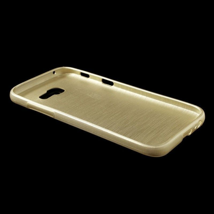 Husa Brushed Inner TPU Samsung Galaxy A3 2017 (A320) - gold 1