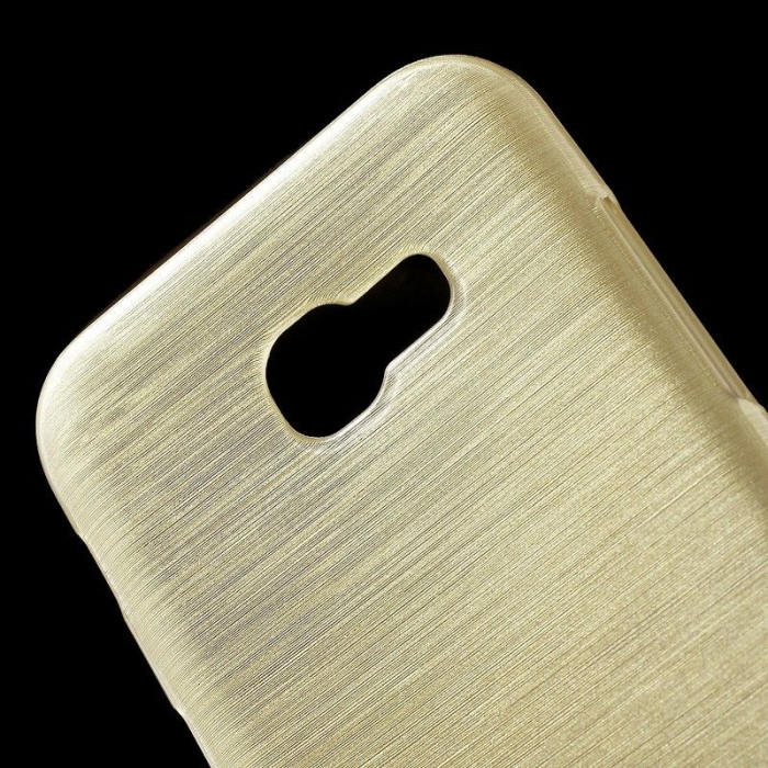 Husa Brushed Inner TPU Samsung Galaxy A3 2017 (A320) - gold 2
