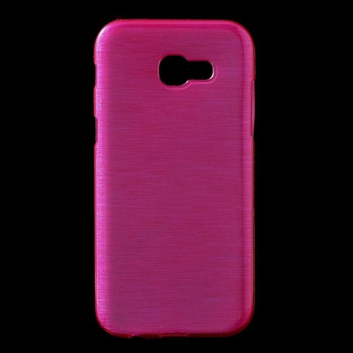 Husa Samsung Galaxy A5 2017 (A520F) Brushed Inner TPU - roz 0