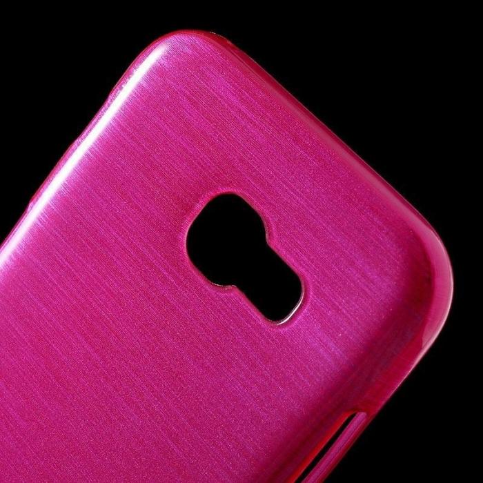 Husa Samsung Galaxy A5 2017 (A520F) Brushed Inner TPU - roz 5