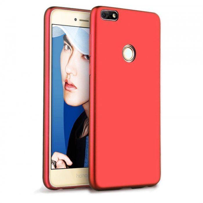 Husa Color Soft Cover Huawei P9 Lite Mini (2017) - rosu 0