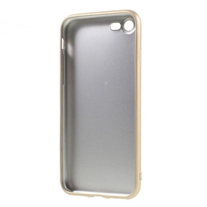 Husa Iphone 7 Color Soft TPU Cover - gold 4