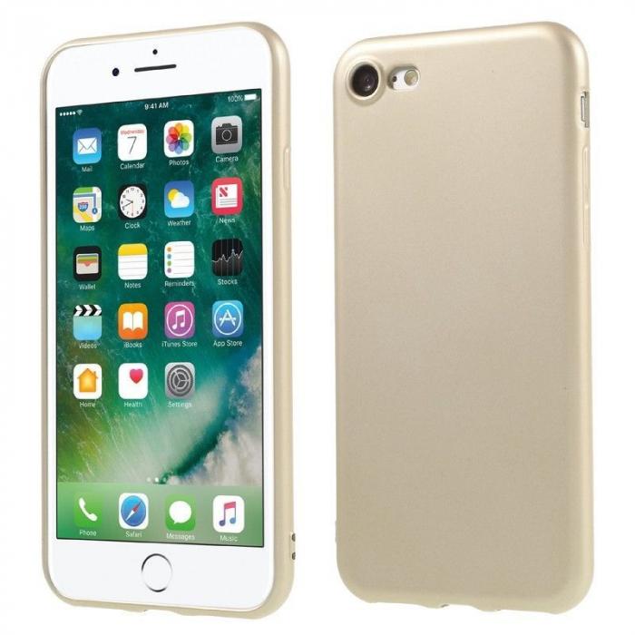 Husa Iphone 7 Color Soft TPU Cover - gold 1