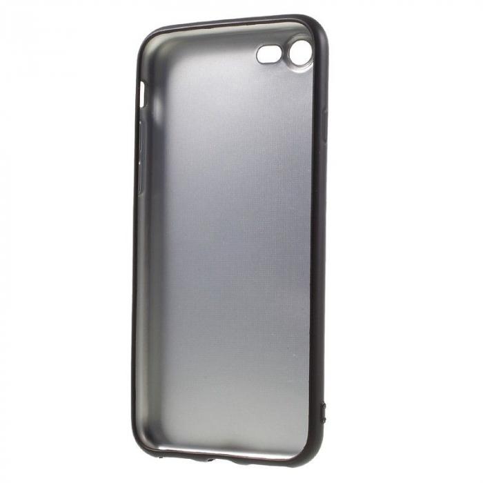 Husa iPhone 7 / iPhone8  Matte Soft TPU - negru 2
