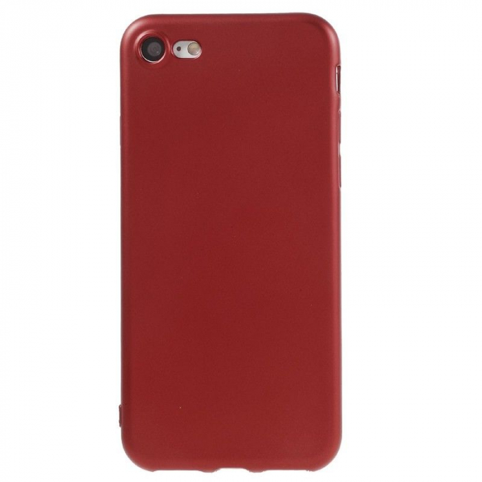 Husa Iphone 7 Color Soft TPU Cover - rosu 0