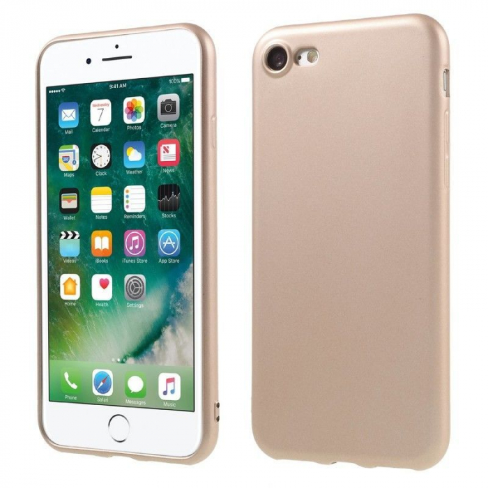 Husa Iphone 7 Color Soft TPU Cover - roz 1