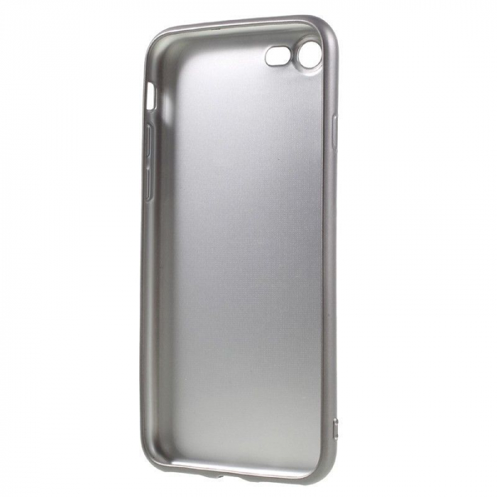 Husa Iphone 7 Color Soft TPU Cover - silver 4