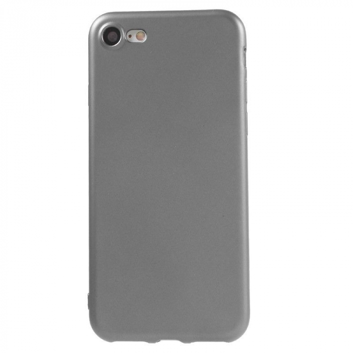 Husa Iphone 7 Color Soft TPU Cover - silver 0