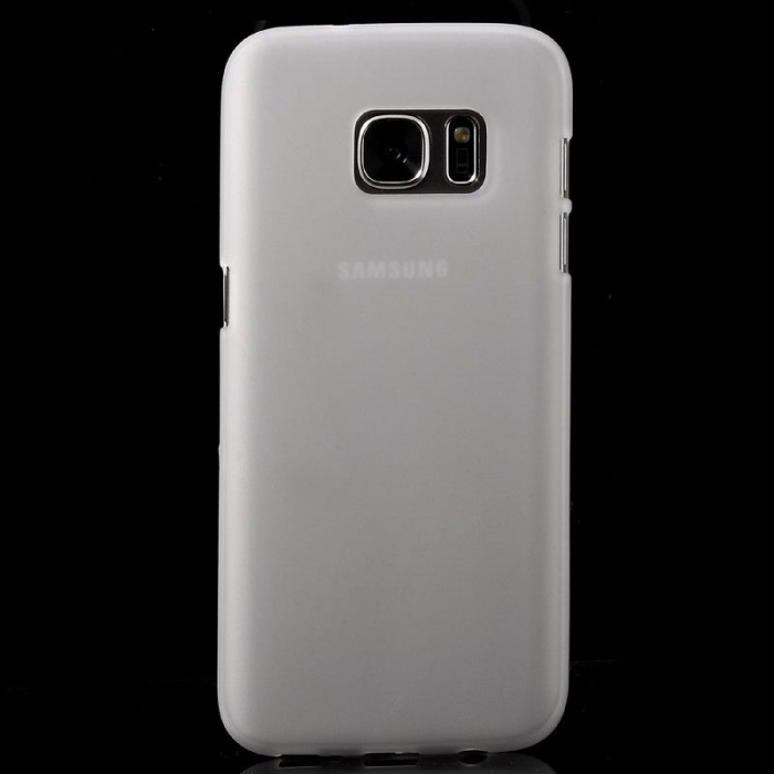 Husa Color Soft TPU Cover Samsung Galaxy S7 - alb 3