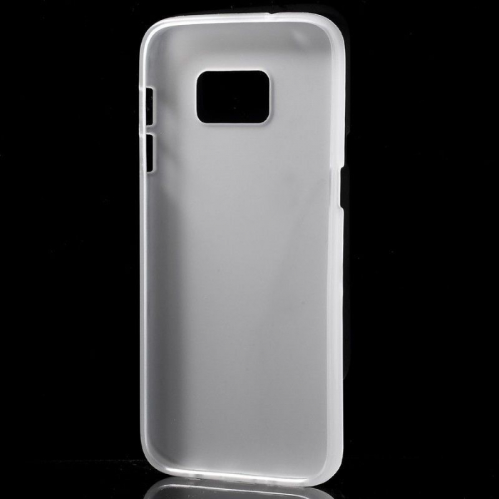 Husa Color Soft TPU Cover Samsung Galaxy S7 - alb 1