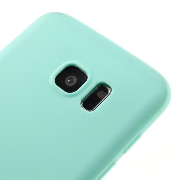 Husa Color Soft TPU Cover Samsung Galaxy S7 Edge - blue 2