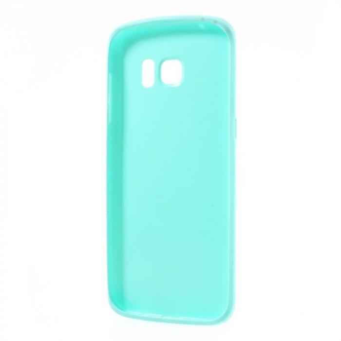 Husa Color Soft TPU Cover Samsung Galaxy S7 Edge - blue 4