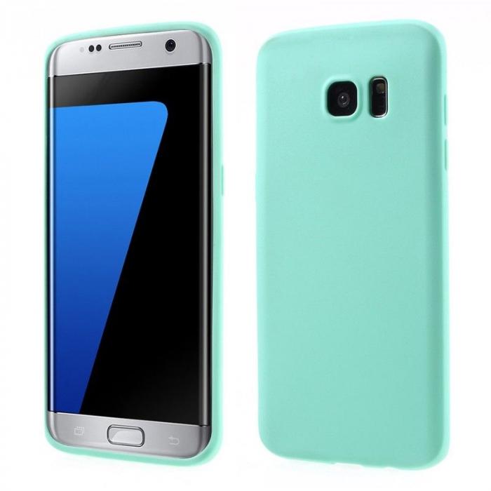 Husa Color Soft TPU Cover Samsung Galaxy S7 Edge - blue 0